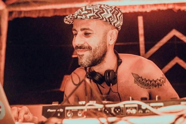 O DJ Rodrigo Bento