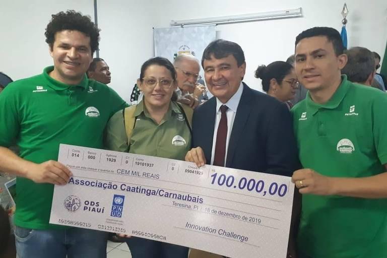 Associação Caatinga recebeu R$ 100 mil pelo trabalho realizado com comunidades rurais