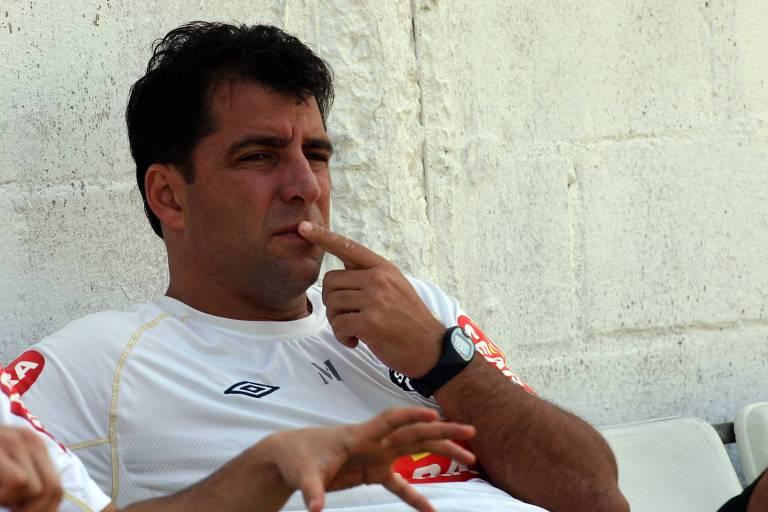O ex-goleiro Marcelo Martelotte foi essencial no título nacional do Bragantino