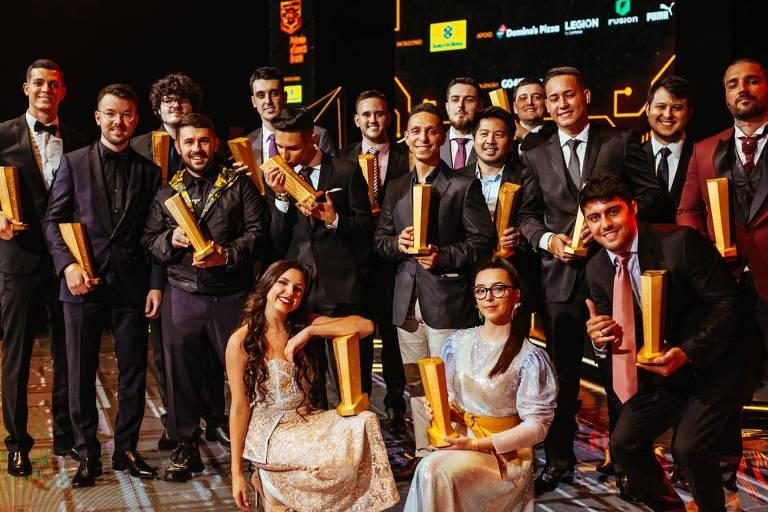 Vencedores do Prêmio eSports Brasil 2019