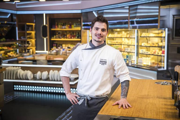 """Cozinheiro Gabriel Coelho do """"Mestre do Sabor"""""""