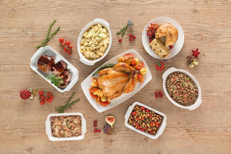 Supermercados têm ceias prontas para o Natal e Ano-Novo