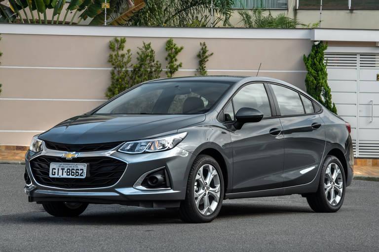 Chevrolet Cruze fica mais barato em versão com renovação parcial