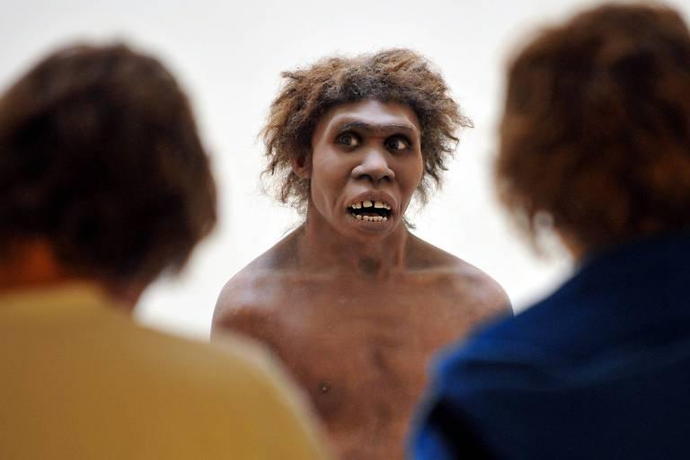 Representação de neandertal