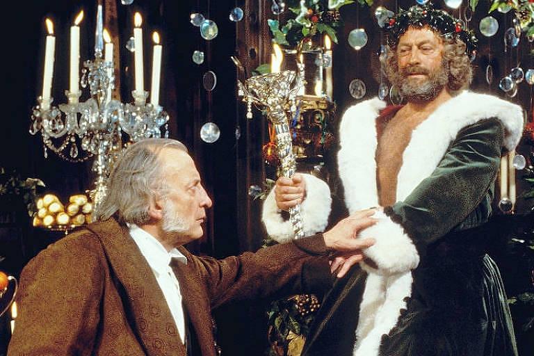 """Cena do filme """"Um Conto de Natal"""", de 1984"""