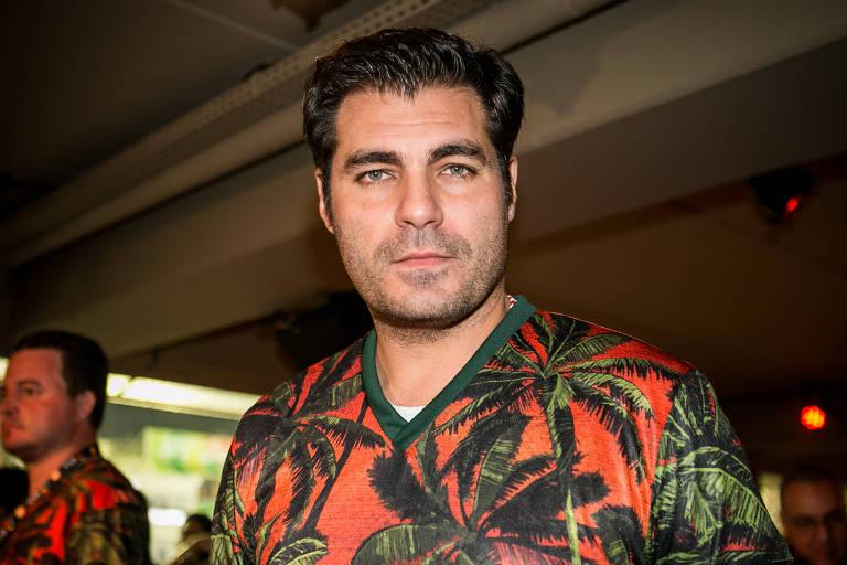O ator Thiago Lacerda