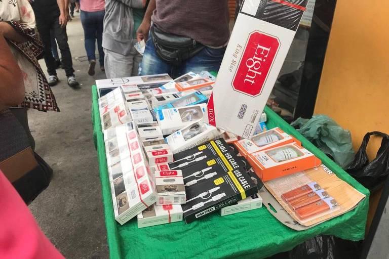 Paraguai ganha concorrentes no mercado ilegal de cigarros