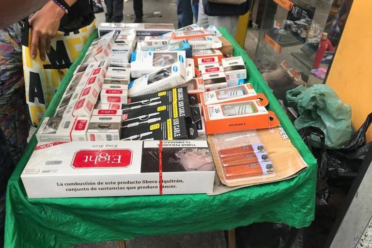 Plantações de tabaco no Paraguai e o contrabando para o Brasil