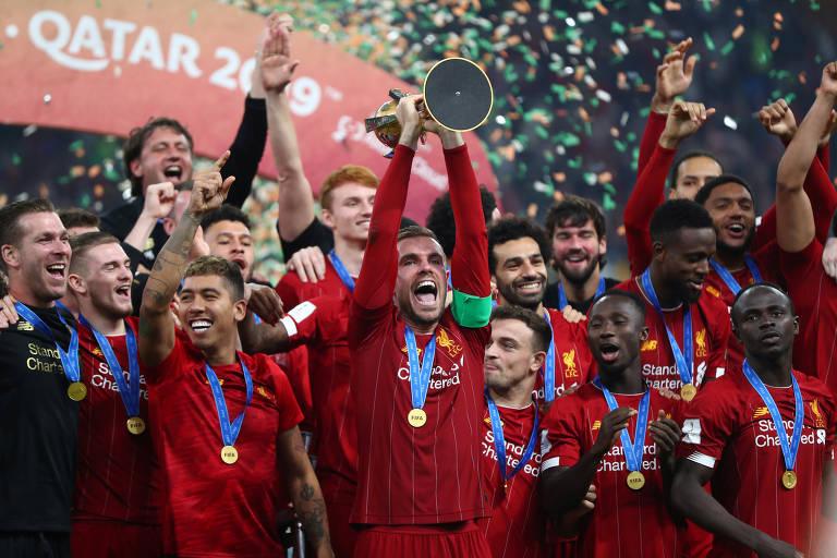 Os campeões mundiais de clubes entre 2005 e 2019