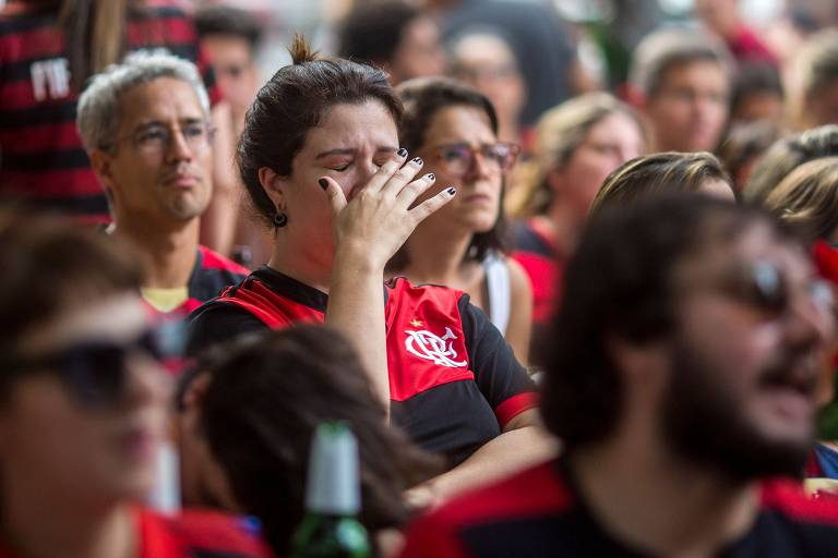 Veja fotos da torcida do Flamengo durante a final do Mundial de Clubes