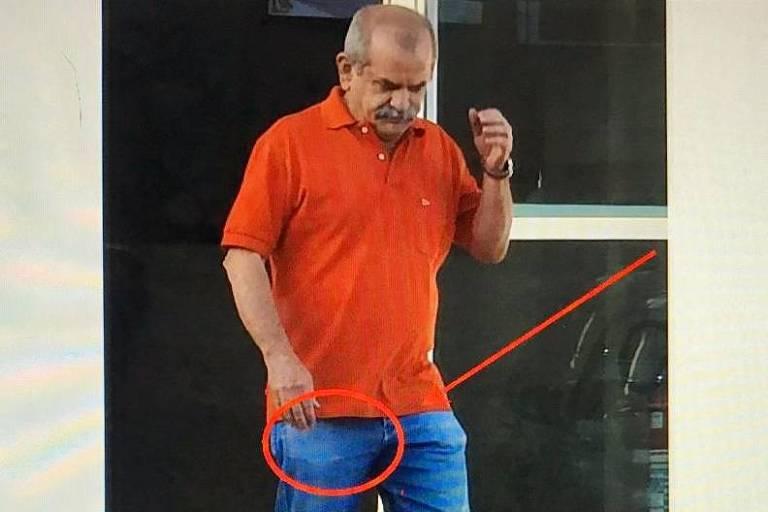 Imagens de denúncia contra o deputado Wilson Santiago (PTB-PB)