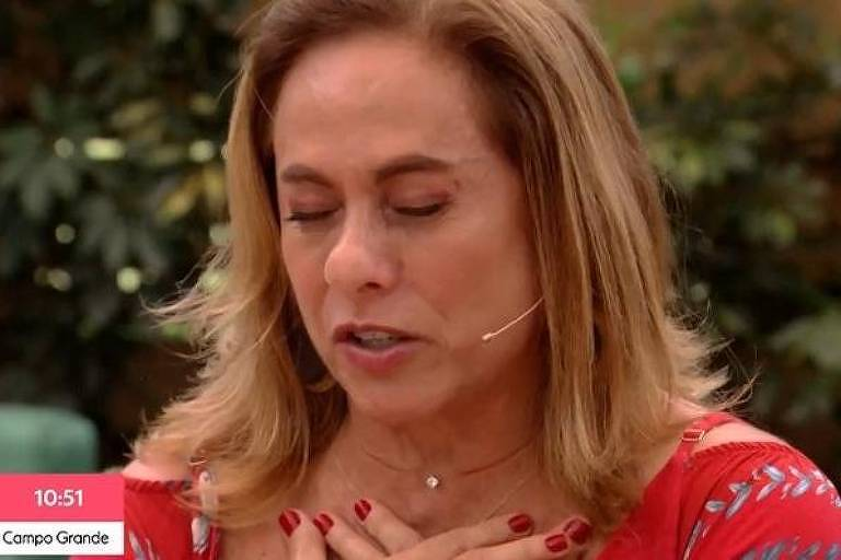Cissa Guimarães no É De Casa