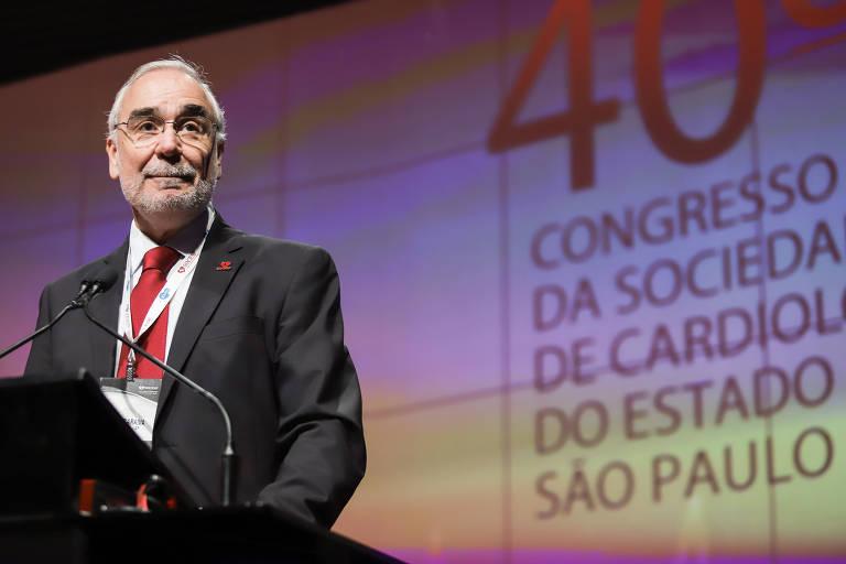 José Francisco Kerr Saraiva - Médico cardiologista e presidente da Sociedade de Cardiologia do Estado de São Paulo (Socesp)