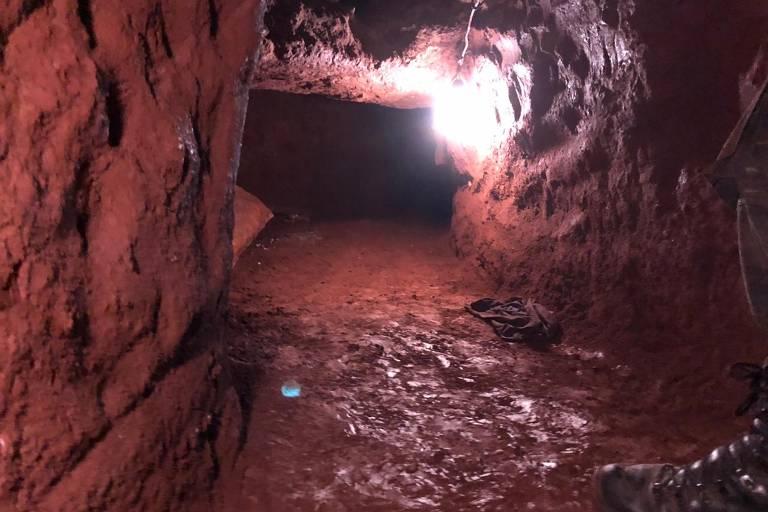 Grupo teve organização profissional para escavação de túnel