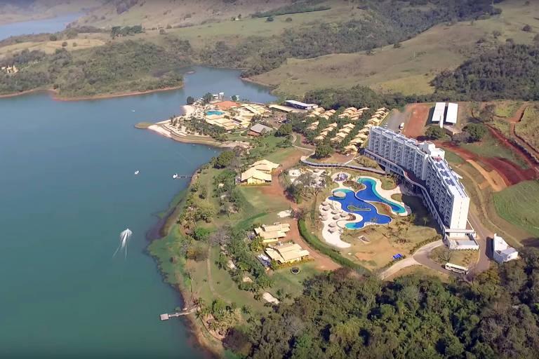 O Tayayá Aquaparque, resort de luxo em Ribeirão Claro (PR) onde Toffoli se hospedou