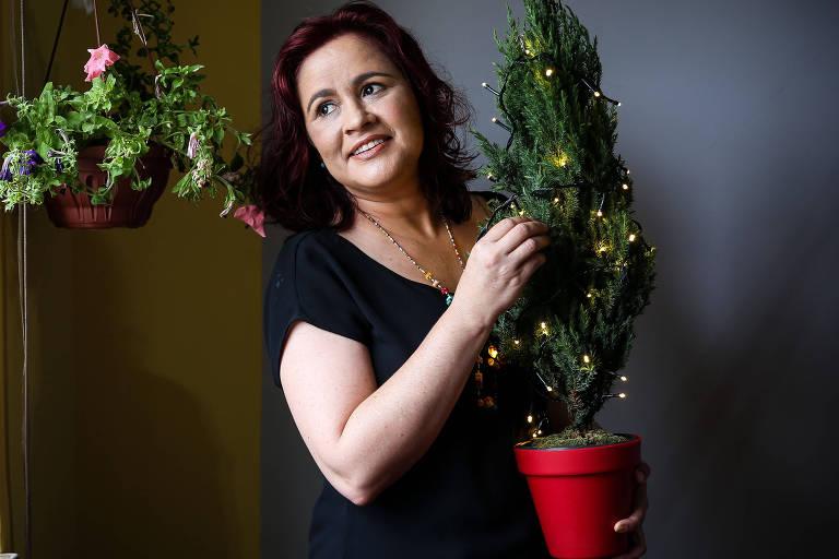 Karla vai passar o segundo Natal longe da família depois que Bolsonaro foi eleito