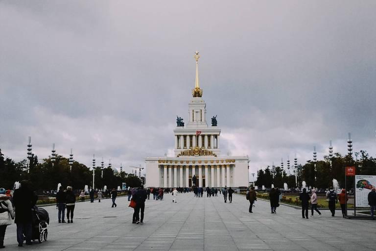 Misto de complexo de pavilhões de exposições e parque, o VDNH tem um museu dedicado aos projetos espaciais russos