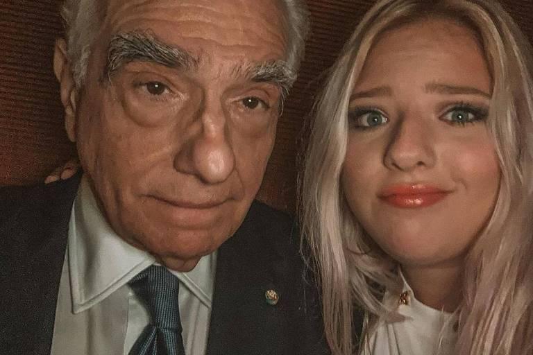Filha de Martin Scorsese provoca o pai e embala presente com personagens da Marvel