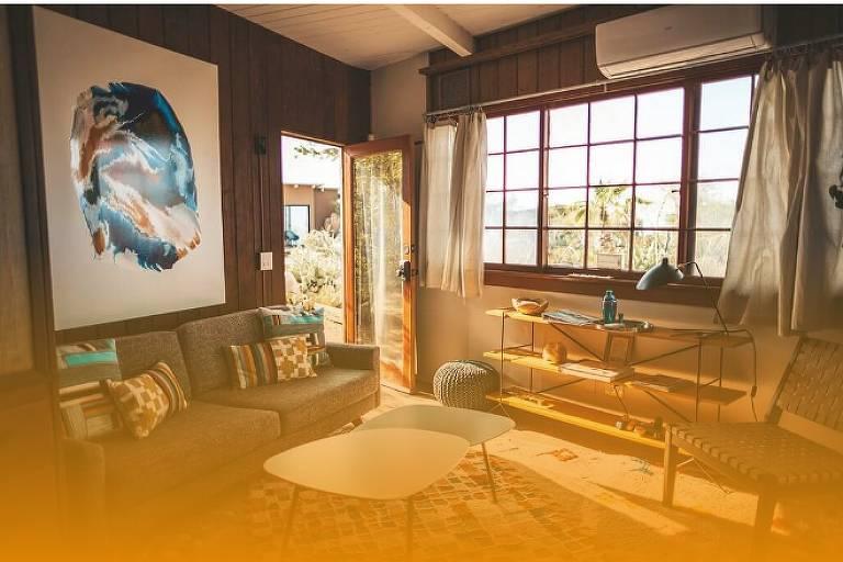 imagem de uma sala de estar