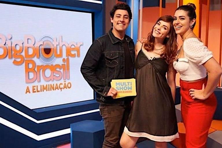 Bruno de Luca, Titi Müller e Vivian Amorim
