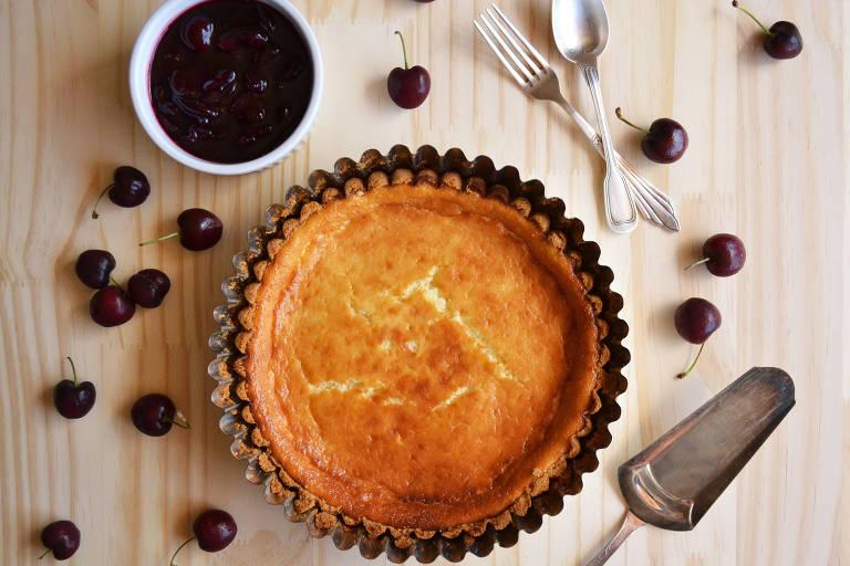 Cheesecake prático