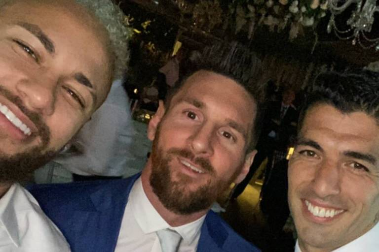 Neymar, Messi e Suarez