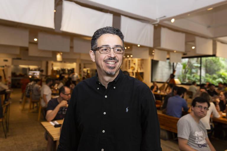 Sérgio Sá Leitão em evento no Masp
