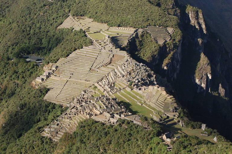 Machu Picchu view from Wayna Picchu