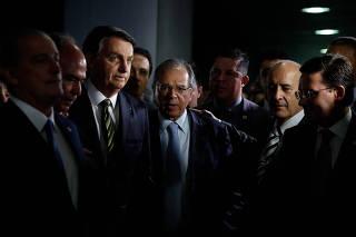 BOLSONARO / SENADO / DAVI / GUEDES / PACOTE ECONOMICO