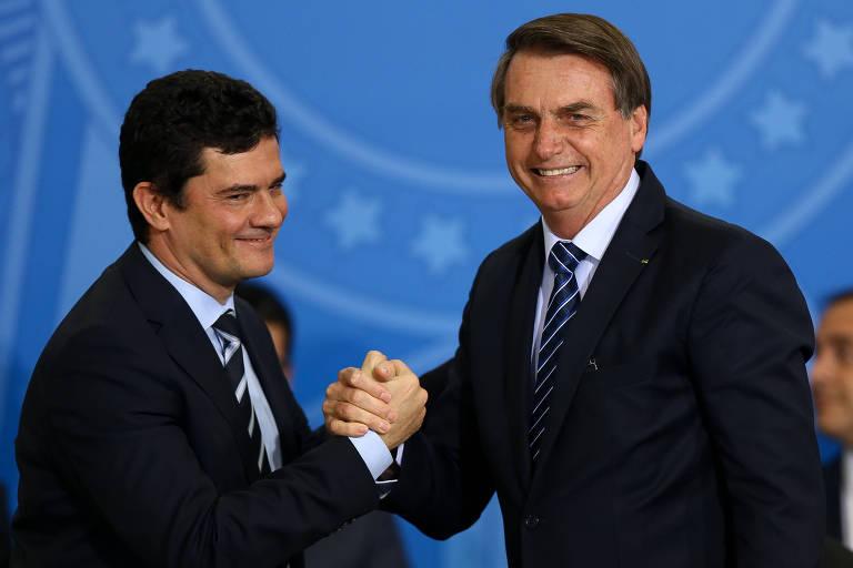 Projeto piloto de Bolsonaro e Moro para combater crime termina em fracasso