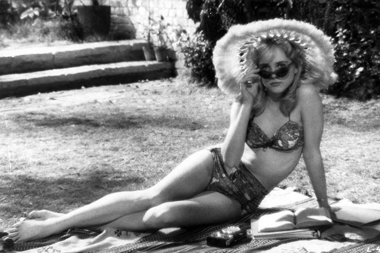 """Sue Lyon em cena de """"Lolita"""""""
