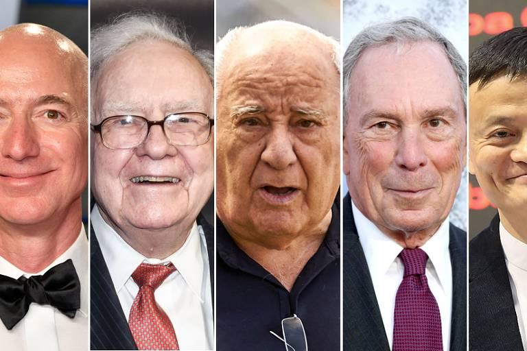 Cinco bilionários que tiveram primeiros empregos bem modestos antes da fama