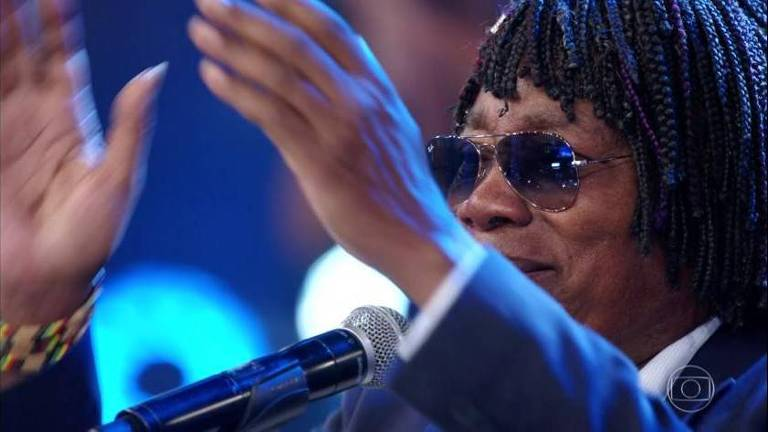Milton Nascimento participa do Domingão do Faustão