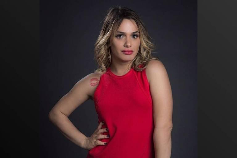 Atriz Glamour Garcia em ensaio fotográfico