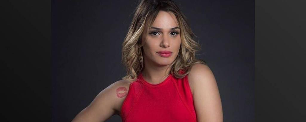 A atriz Glamour Garcia