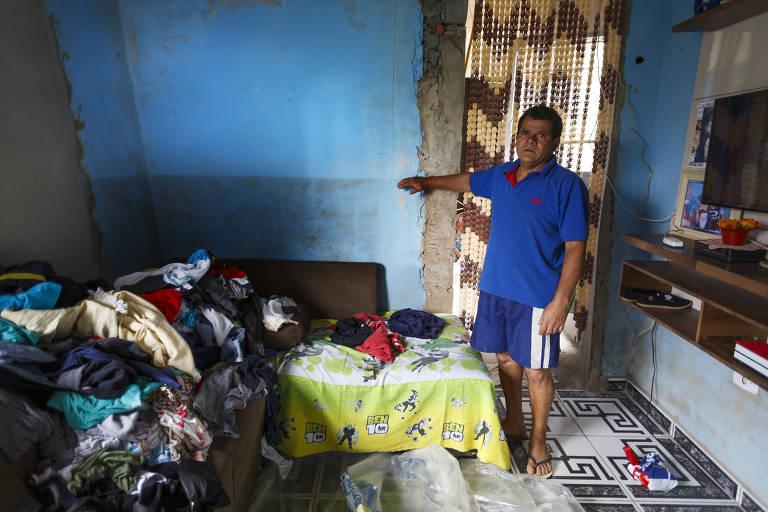 Moradores temem novas enchentes