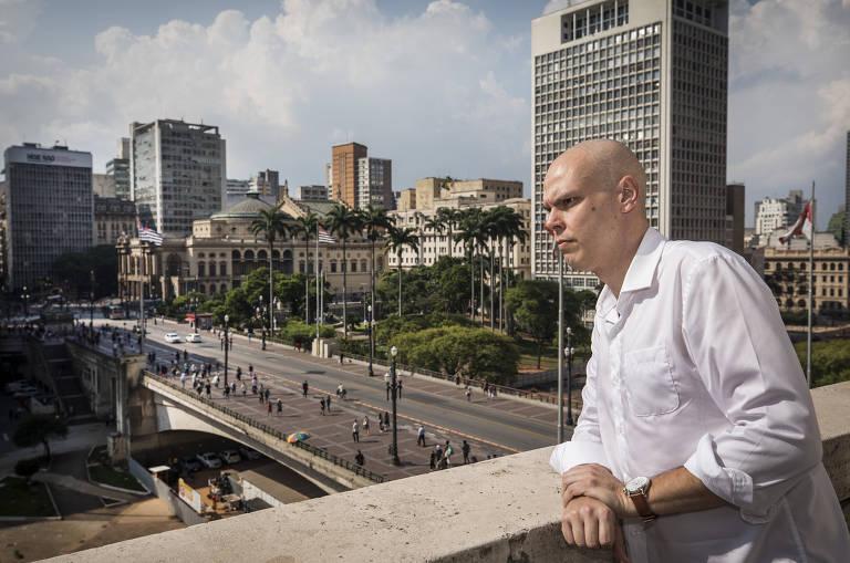 Bruno Covas recebe Geraldo Alckmin em seu gabinete nesta sexta