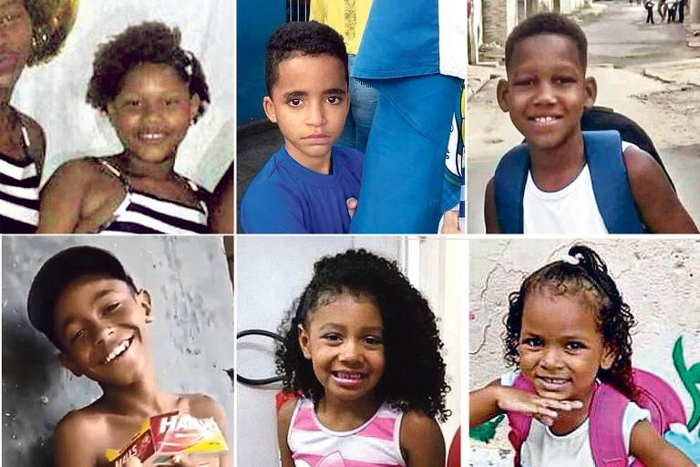 Jenifer, Kauan, Kauã, Kauê, Ágatha e Kethellen, as seis crianças mortas pela violência no Rio em 2019
