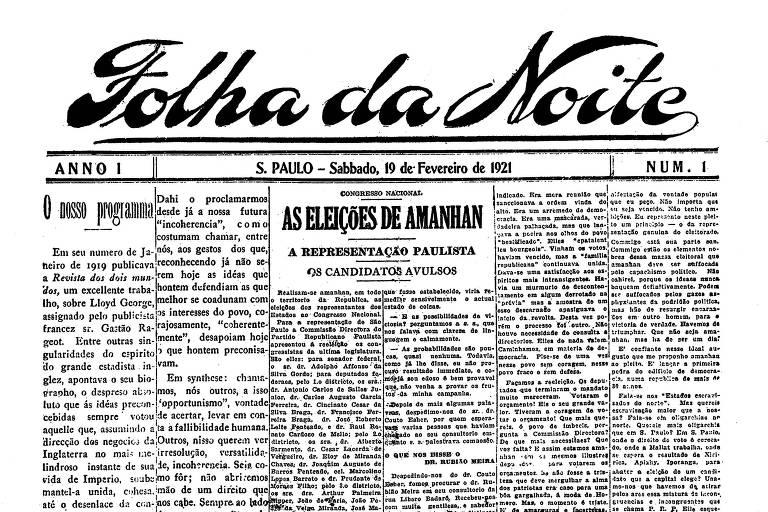 Folha, 100 - Conheça a história do jornal