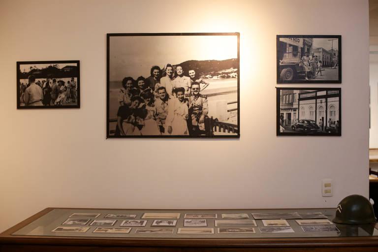 Imagens, objetos e documentos históricos da Segunda Guerra na Fundação Rampa, em Natal, que serão expostos no novo Centro Cultural Trampolim da Vitória, em Parnamirim (RN)