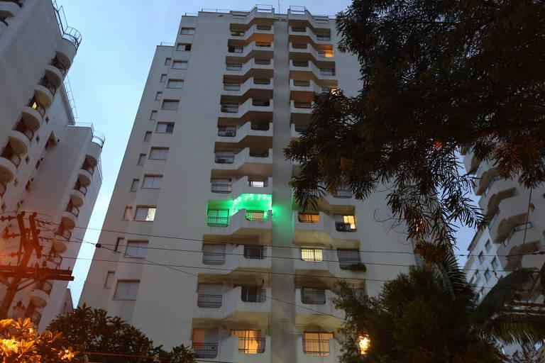 Prédio alvo de arrastão em São Paulo