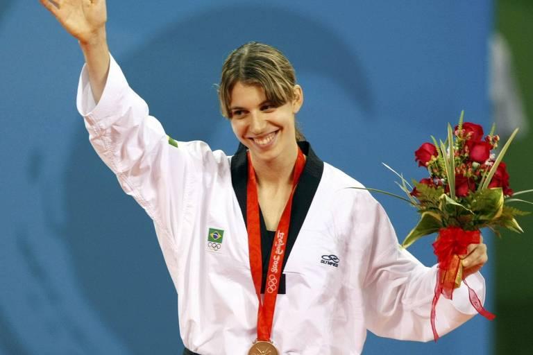 A atleta Natália Falavigna, que vai mostrar seu taekwondo no Sesc Santo Amaro
