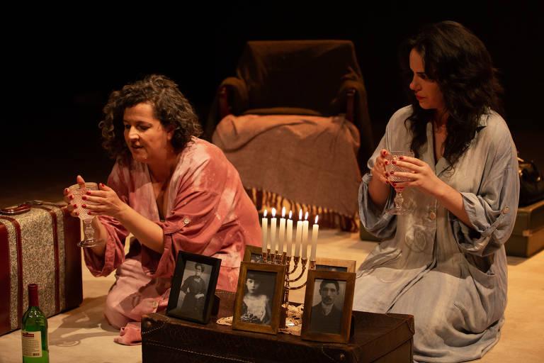 Veja cenas do espetáculo 'Minhas Queridas'