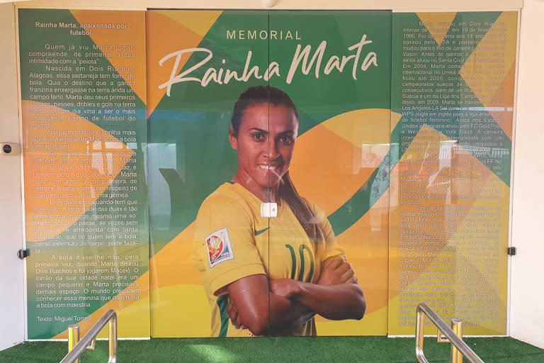 Memorial Rainha Marta, em Maceió, passa por reformas