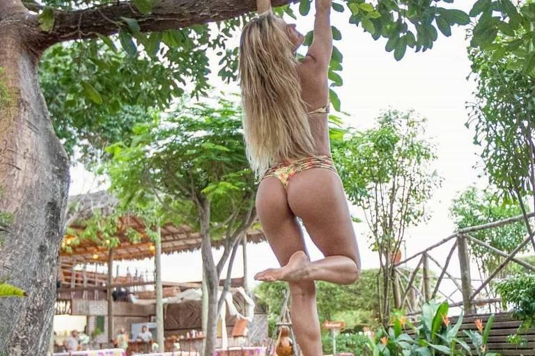 Livia Andrade Em Jericoacoara (CE)