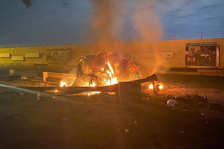 Ataque no aeroporto de Bagdá, no Iraque, vitimou nove pessoas, entre elas o general iraniano Qassem Suleimani
