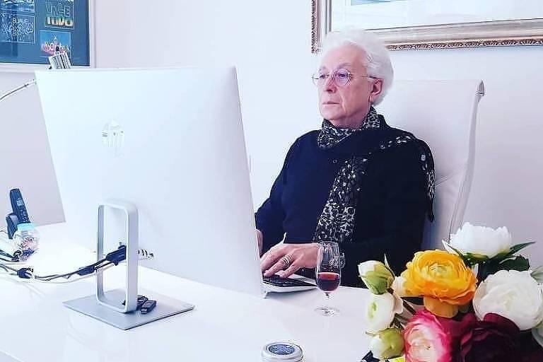 O autor de novelas Aguinaldo Silva