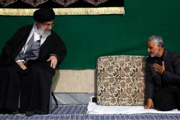 Soleimani era considerado próximo do líder supremo do Irã, aiatolá Ali Khamenei