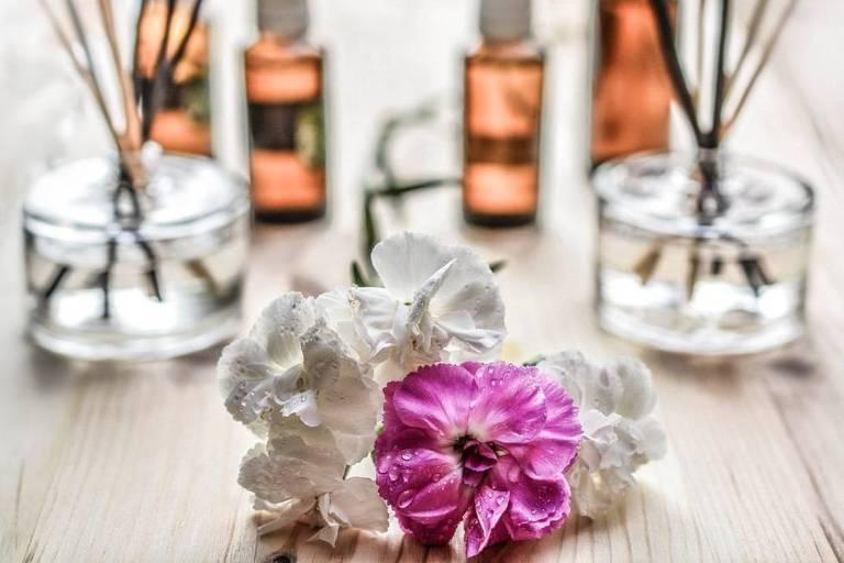 Primavera e aromaterapia