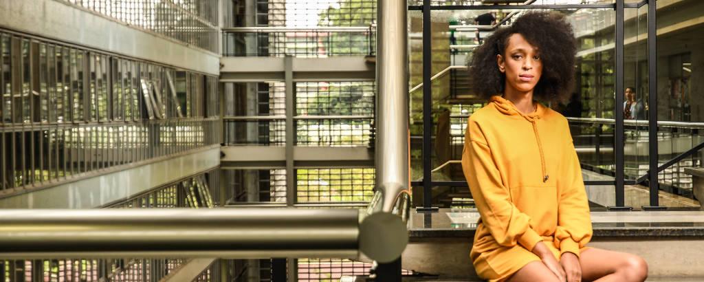 A codeputada Erika Hilton, uma das nove integrantes da Bancada Ativista do PSOL na Assembleia de SP